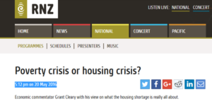 Poverty crisis or housing crisis?